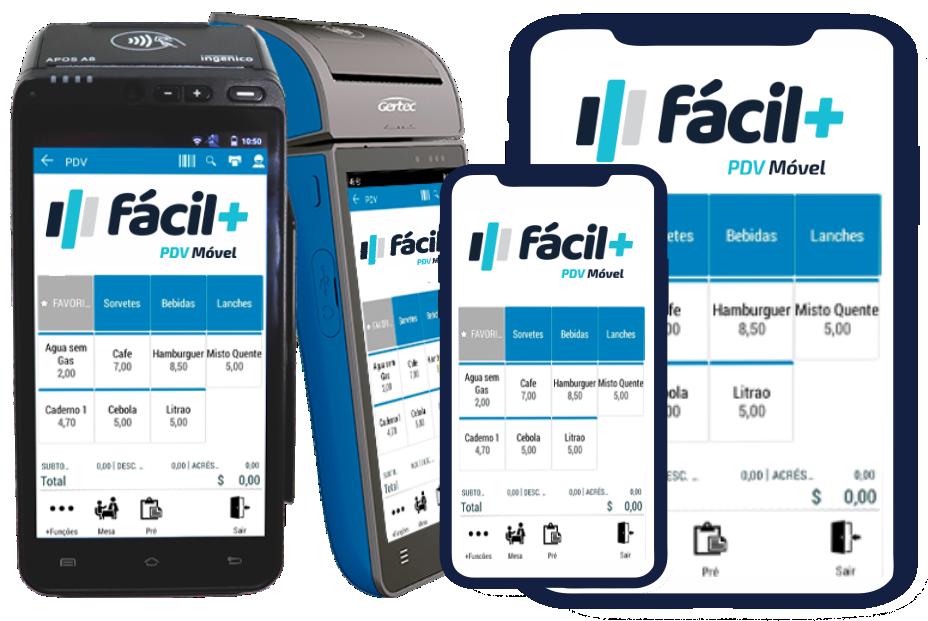tablet celular e maquina de cartao de credito
